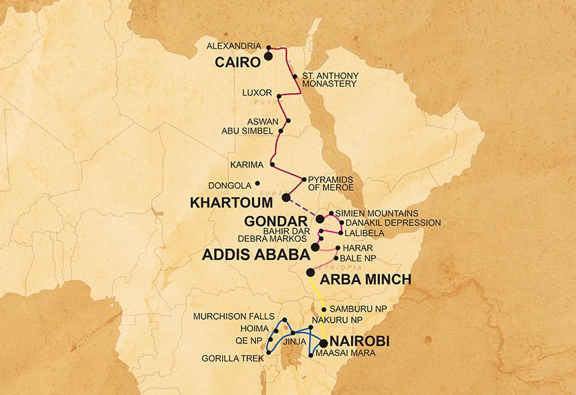 Eastern Trans Africa & Gorillas | Dragoman | TourHound